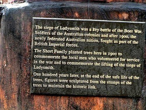 Siege of Ladysmith Inscription ; 2007
