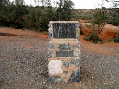 Silver lead Discovery Monument