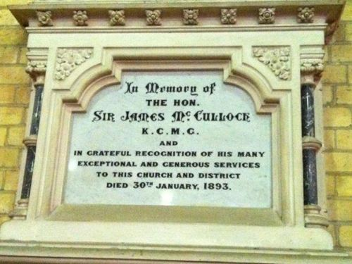 Sir James McCulloch : 12-July-2012
