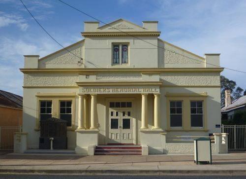 Soldiers Memorial Hall : 03-November-2012