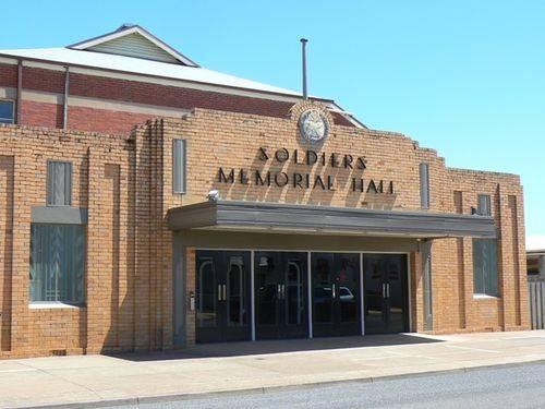 Soldiers Memorial Hall : 30-December-2012