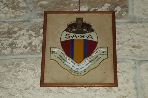 S.A.S.A. Plaque : March 2014