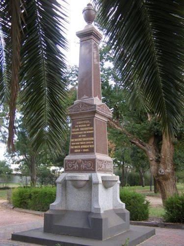 South African War Memorial : 28-03-2014
