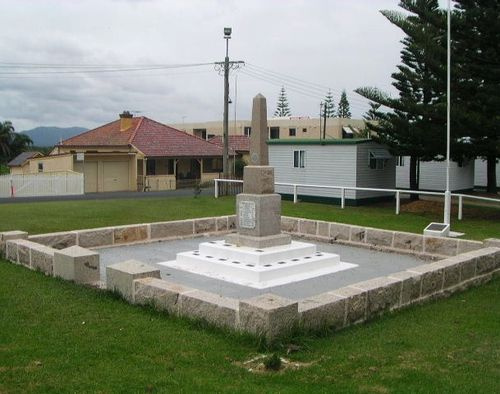 South West Rocks Cenotaph