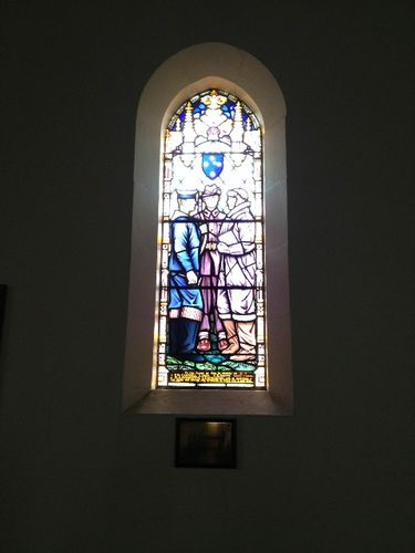St Andrews Memorial Window : October 2013
