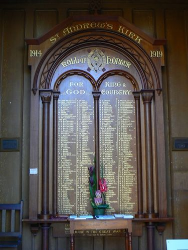 St Andrews Kirk Honour Roll