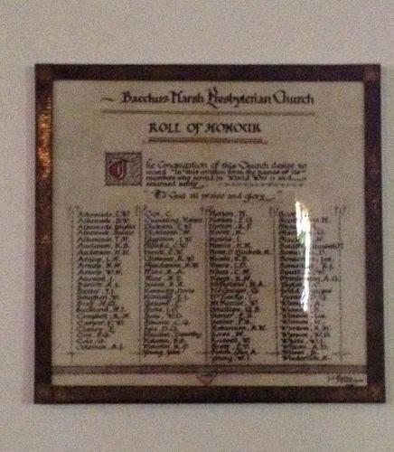 St Andrews WW2 Roll : October 2013