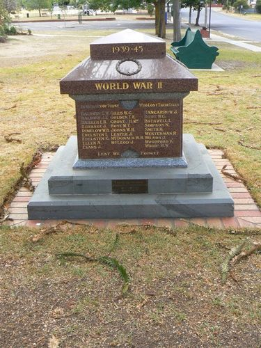 St Arnaud Subsequent Wars Memorial