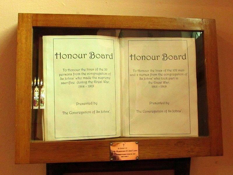Honour Book : 19-April-2015