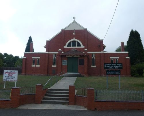 St. John`s Soldiers Hill Memorial Hall : 23-March-2013