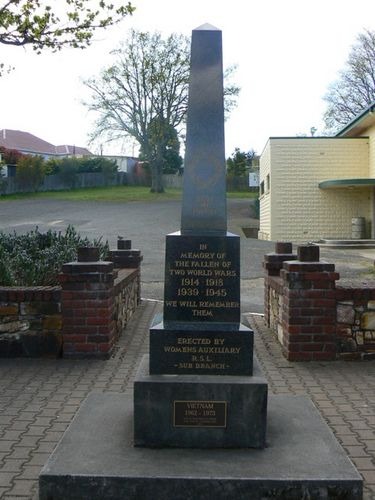 St Marys War Memorial