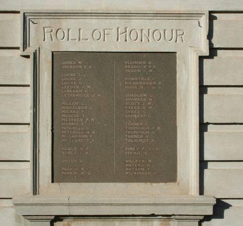 Honour Roll : 28-June-2014
