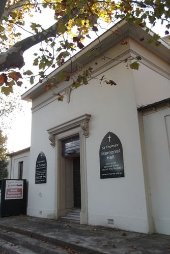 St Thomas Memorial Hall : Feb 2014
