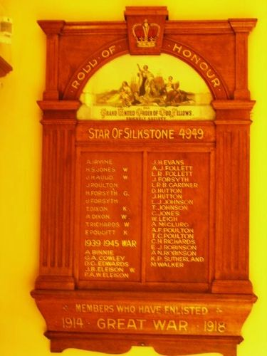 Star of Silkstone Honour Roll