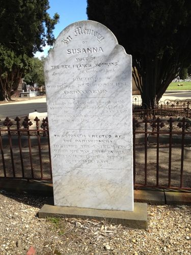 Susanna Hopkins Tombstone : 20-09-2013