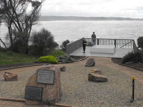 Sydney Cove Plaque Tathra Memorial Garden