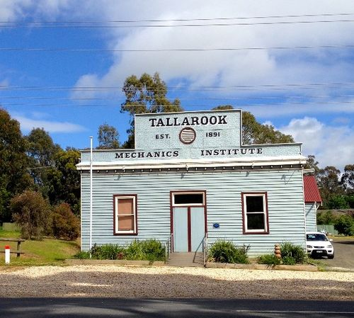 Tallarook Mechanics Institute : 12-11-2013