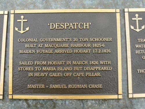 Despatch Plaque : 2007