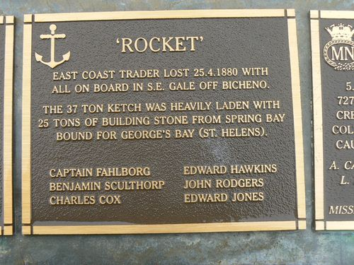 Rocket Plaque : 2007