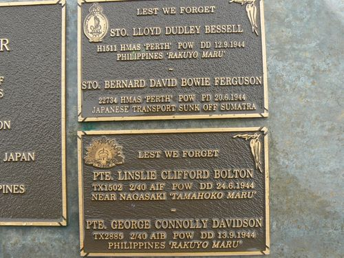 Bessell-Bolton-Davidson Plaques : 2007