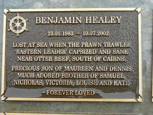 benjamin Healey Plaque : 2007