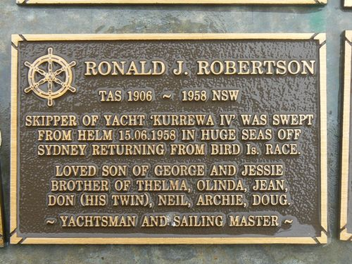 Ronald J. Robertson : 2007