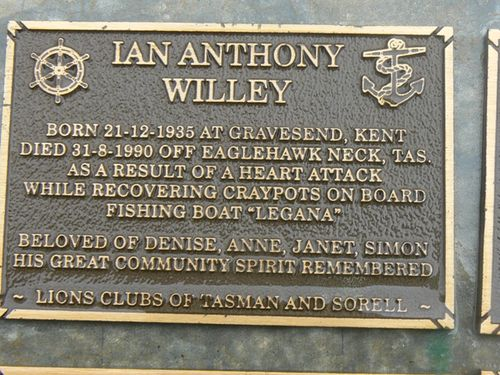 Ian Anthony Willey : 2007