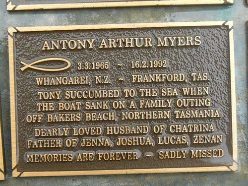 Anthony Arthur Myers : 2007