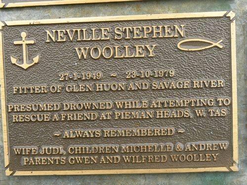 Neville Steven Woolley : 2007