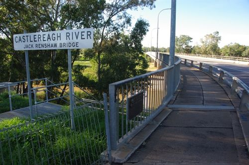 Jack Renshaw Bridge & Plaque : July 2014