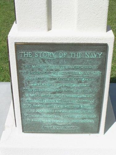 The Story of the Navy Plaque / March 2013