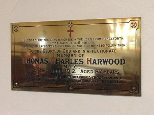 Thomas Charles Harwood : November 2013