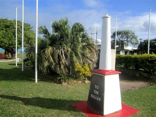 Thursday Island War Memorial : 22-07-2013