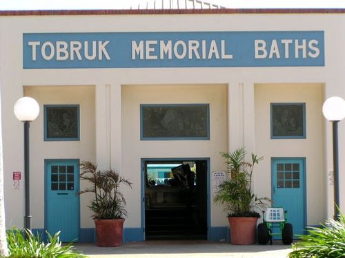 Tobruk Memorial Baths