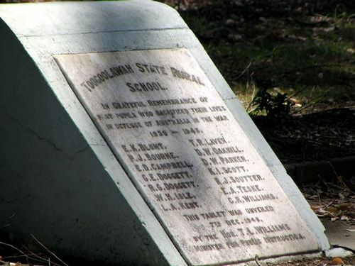 Toogoolawah State Rural School Honour Roll