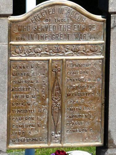 Toolern Vale War Memorial : 27-April-2011