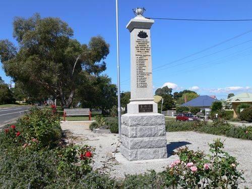 Toora War Memorial : 12-April-2013