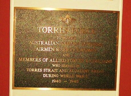 Torres Force Plaque