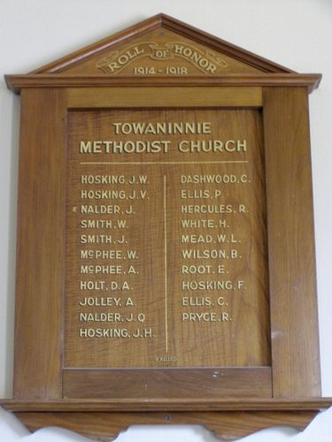 Methodist Church Honour Roll : 07-04-2014