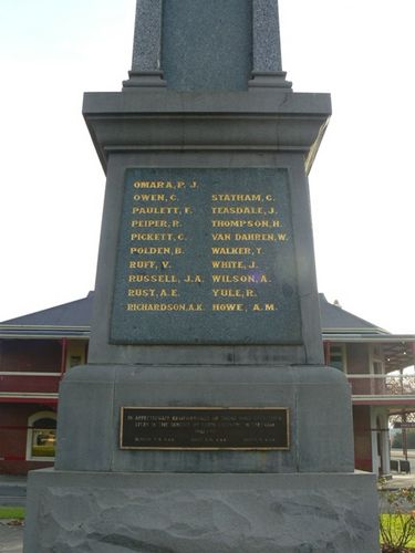 Traralgon War Memorial