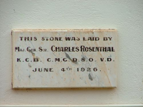 Trundle War Memorial School of Arts Foundation Stone