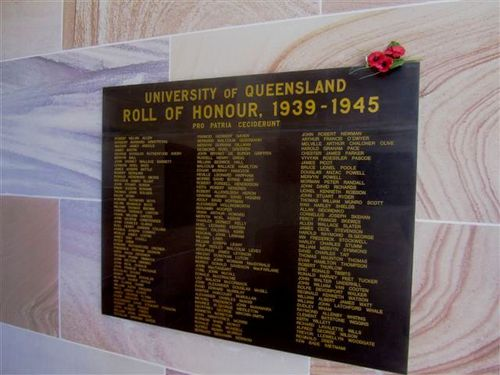 UQ Roll of Honour WW2 : 04-08-2013