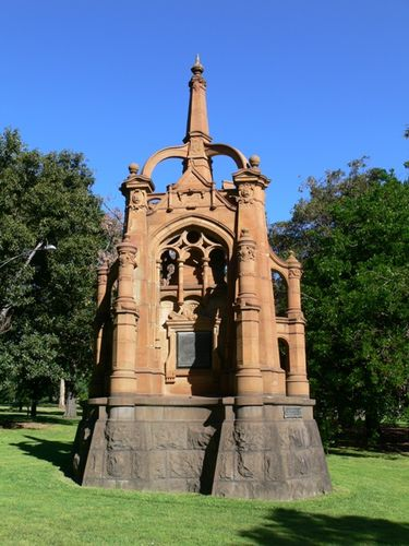 Victorian Mounted Rifles Memorial : 05-December-2011