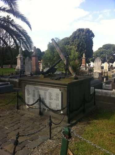 Victorian Naval Memorial : 29-August-2011
