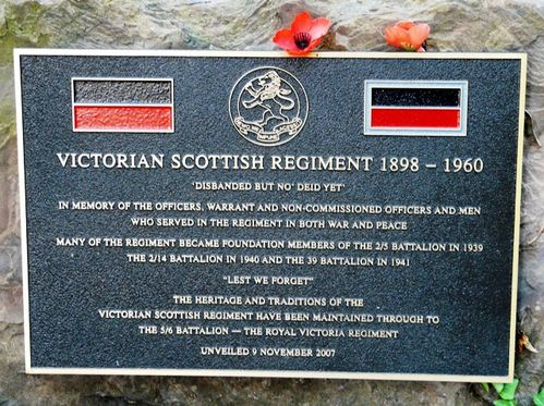 Victorian Scottish Regiment : 29-February-2012