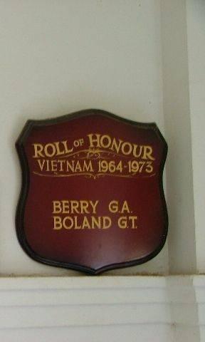 Vietnam Roll of Honour