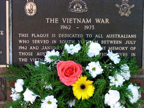 Vietnam War Plaque