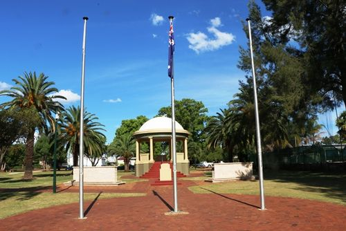 War Memorial Flag Pole