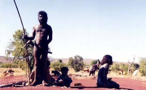 Warriu Park Dreamtime Statues