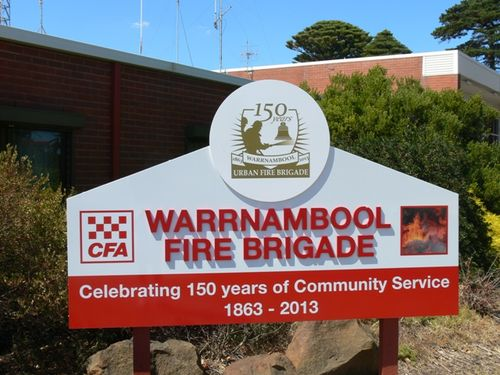 Warrnambool Fire Brigade 150th Anniversary : 05-March-2013